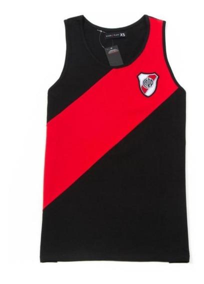 Musculosa River Plate Negra Oficial!!!