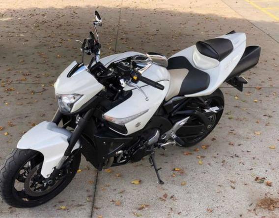 Suzuki B-king Branca 2016 Bking Naked Bmw Yamaha Honda Yzf