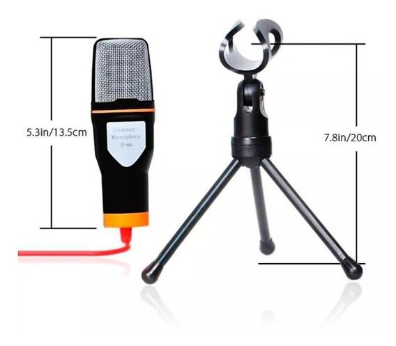Microfone Youtuber Para Celular Notebook Tablet