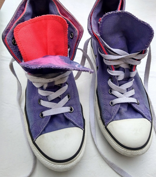 Zapatillas Mujer Botita Converse All Star 36 Junior