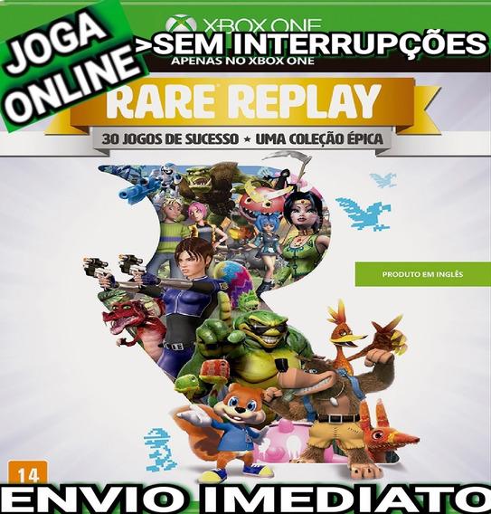 Rare Replay Xbox One Joga Online Digital Original Imediato