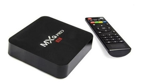 Conversor Smart Tv Box Android Mxqpro 4k Hdmi Netfix Hdmi