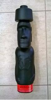 Botella Vacía Pisco Capel Moai