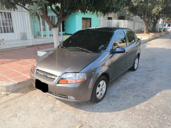 Chevrolet Aveo 2011 Color Gris