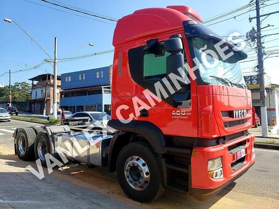 Iveco Stralis 460 6x4 Traçado Aut Ñ Volvo Scania Fh Axor 480