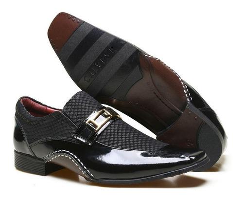 a7d86fae9 Sapato Social Masculino Calvest Super Confortável 1930c411 - R$ 174 ...