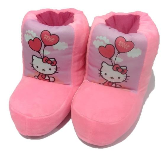 Pantuflas De Botita Hello Kitty Envío Gratis!!!