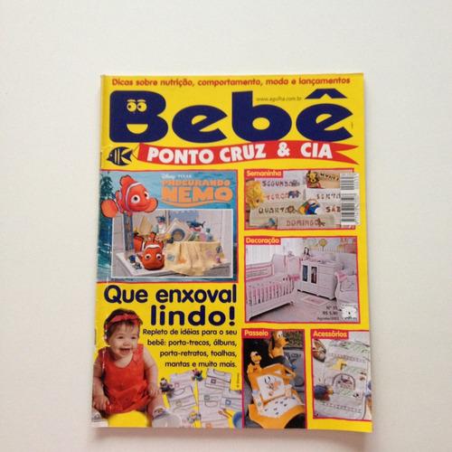 49d767988b1068 Revista Bebê Ponto Cruz E Cia Enxoval Toalhas Nº35 B781