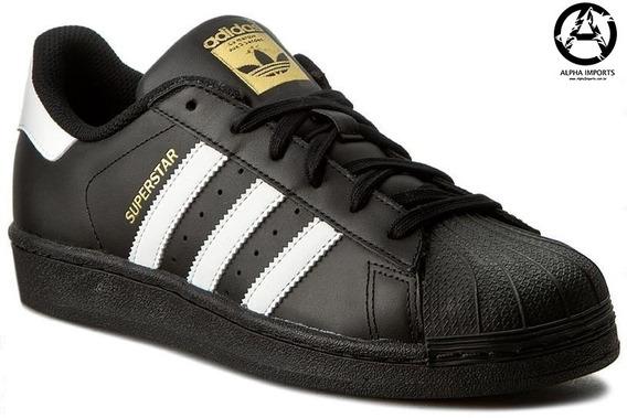 Tênis adidas Superstar Foundation Original - Frete Grátis