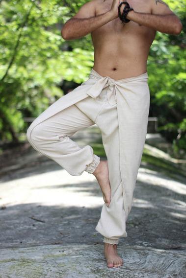 Yoga Pants. Pantalón Yoga. Hombre. Artesanal Hecho A Mano.