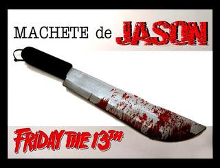 Machete De Jason Ensangrentado Para Disfraz, Terror, Chucky