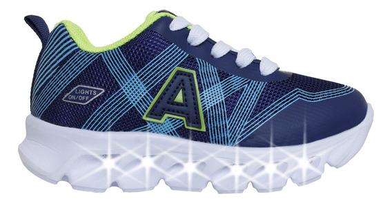 Zapatillas Addnice Moda Cross Cordon Niño Az/az