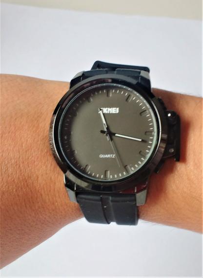 Relógio Masculino Skmei Analógico Em Perfeito Estado.