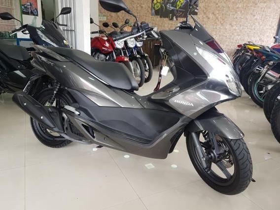 Honda Pcx 150 2016 Cinza 14000 Km Sem Detalhes