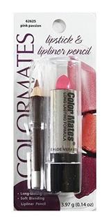 Colormates Lipstick - Lipliner Pencil 62625 Pink Passion Por