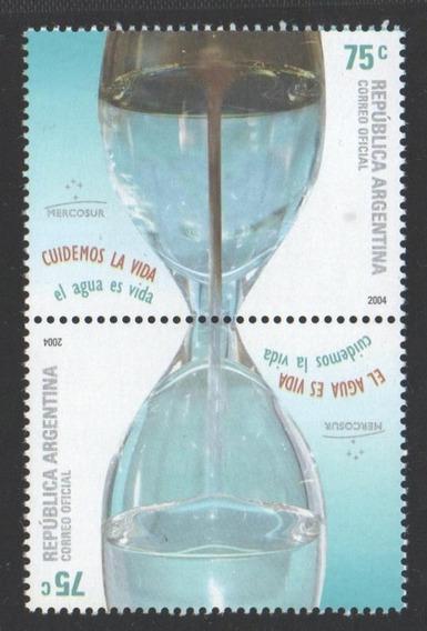 Argentina 2004 Mercosur El Agua, Recurso Escaso. Setenant Gj