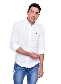 (cod. 709) - Camisa Social Ralph Lauren Cor Branca