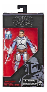 Figura De Acción Jango Fett Star Wars The Black Series