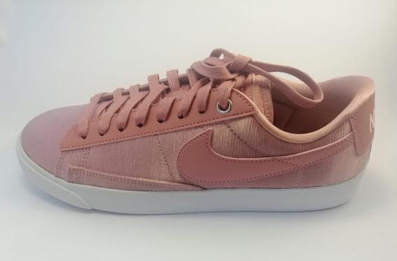 Tenis Nike Dama Casuales 24.5 Color De Tela Coral Tornasol