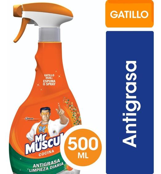 Mr Músculo Antigrasa Gatillo X500 Cm3 - 3 Unidades