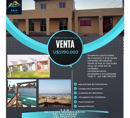 Vendo Posada Hostel  Barra Del Chuy