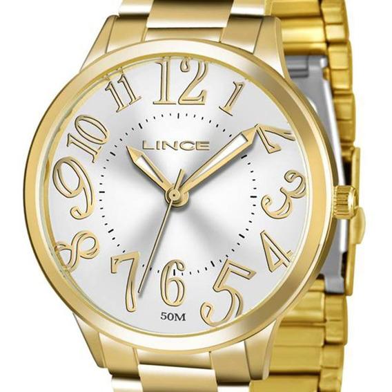 Relógio Orient Lince Feminino Lrgh027l S2kx Dourado