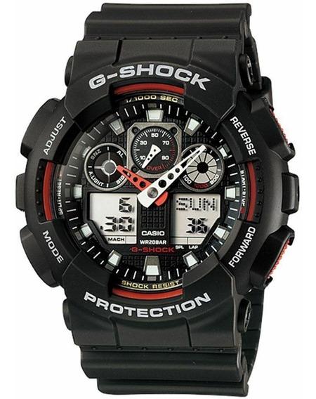 Casio G-shock Horário Mundial Ga-100-1a4er