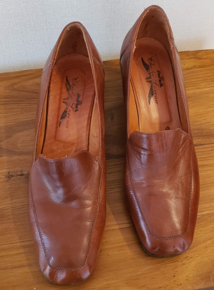 Zapatos Mujer Chiche Lorena 100% Cuero Taco Bajo 5 Cm