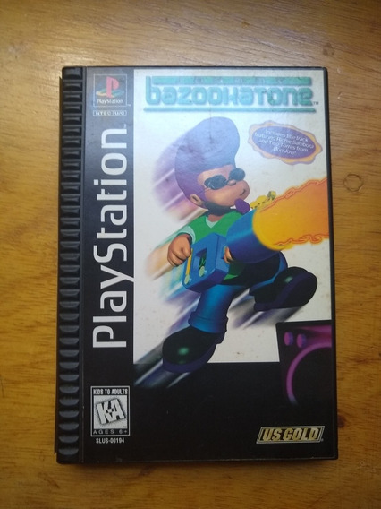 Jhonny Bazookatone Ps1 Original