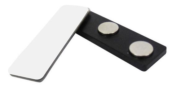 Broche Magnetico Triple Iman Plastico 5 X 1,3 X 0,5 Cm Clip