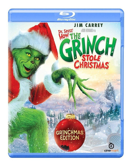 El Grinch Jim Carrey Pelicula Bluray