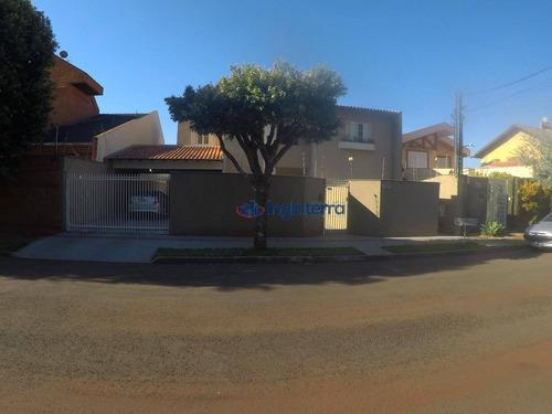 Casa À Venda, 345 M² Por R$ 950.000,00 - Mediterrâneo - Londrina/pr - Ca1638
