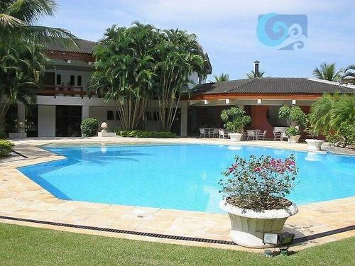 Imagem 1 de 12 de Casa À Venda - Condomínio Jardim Acapulco - Guarujá - Ca0663
