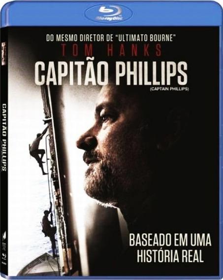 Blu-ray - Capitão Phillips - Tom Hanks - Original Lacrado