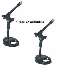 Par De Pedestal De Mesa Para Microfone Torelli Hpm56 Suzano