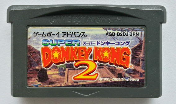 Donkey Kong Country 2 Original Jp - Game Boy Advance Gba