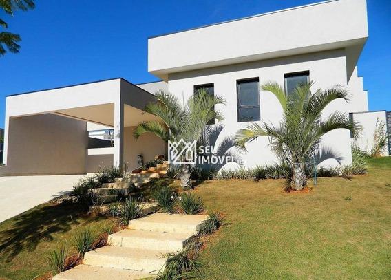 Casa Residencial À Venda, Condomínio Palmeiras Imperiais, Salto - Ca1099. - Ca1099