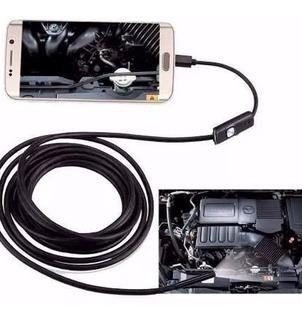 Sonda Boroscópio Câmera Celular Android Usb 1,5 Metros Led