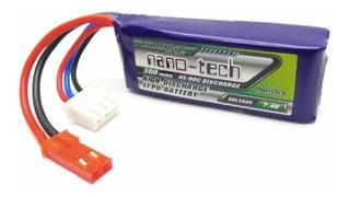 Bateria Lipo 300mah 2s 7.4v 45c Nano Tech Dron Robotica Rc