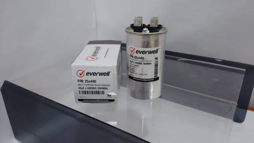 Capacitor Marcha 25 Mfd (370/440 V)