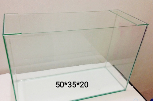 Pecera 50x35x20 4mm Acuario 35 Litros