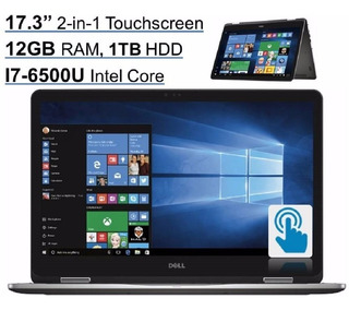 Dell Inspiron 2-en-1 17.3 Fhd I7 12gb 1tb 940mx A Pedido!!!