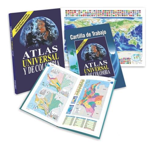 Atlas Universal Y De Colombia Zamora