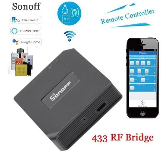 Sonoff Ponte Bridge Rf 433 - Modelo Novo Pronta Entrega Br