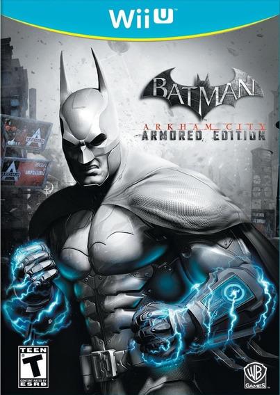 Batman Arkham City Armored Edition Wii U Mídia Física