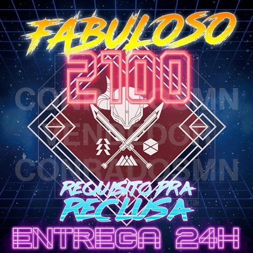 Rank Glória Fabuloso / Fabled 2100 - Destiny Pc, Ps4, Xbox
