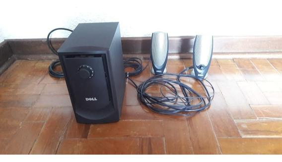 Kit Multimedia Dell Caixa Som Sobwoofer Dell Mod. A425