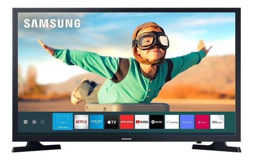Imagem 1 de 5 de Samsung Smart Tv Tizen Hd 2020 T4300 32 Hdr