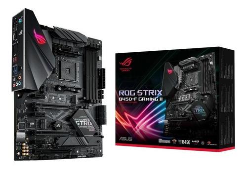 Imagen 1 de 10 de Motherboard Gamer Asus Rog Strix B450-f Gaming 2 Am4 B450