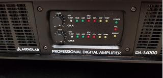 Amplificador Potencia Audiolab Da-14000 Nuevo!
